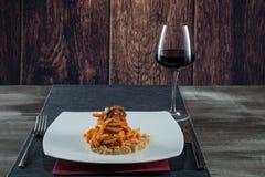 Bolognese sauce pasta Royalty Free Stock Photos