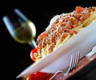 Bolonais de pâtes Photo libre de droits