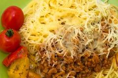 Bolonais de spaghetti Photo libre de droits