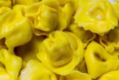 Bolonais de Tortellini préparé pour la cuisson photo libre de droits