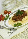 Boloney's pasta Stock Photo