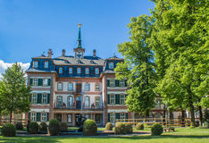 Bolongaro Palace in Frankfurt Hoechst Germany royalty free stock photo