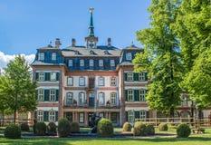 Bolongaro slott i denHoechst Tyskland Arkivbilder