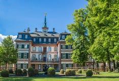 Bolongaro slott i denHoechst Tyskland Royaltyfri Foto
