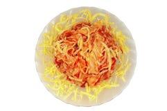 Bolonha do espaguete Fotos de Stock Royalty Free