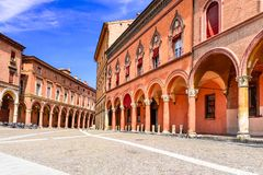 Bolonha, Emilia-Romagna, Itália Imagens de Stock