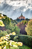 Bolonia, basílica S Luca, Italia fotografía de archivo