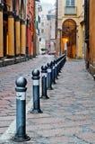 Bolonia de la opinión de la calle Foto de archivo