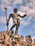 Bolonia, Italia - estatua de Neptuno Fotografía de archivo