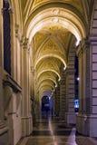 Bolonia por noche Foto de archivo libre de regalías