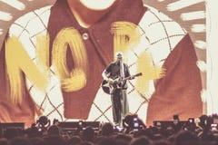 Bolonia viva 2018 del concierto de Smashing Pumpkins imagen de archivo libre de regalías