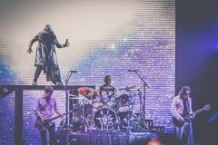 Bolonia viva 2018 del concierto de Smashing Pumpkins fotografía de archivo