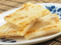 Bolos Bandeja-Fritados do Taro Imagem de Stock