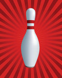 Bolos. Bowling stock de ilustración