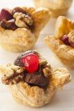 Bolos caseiros da pastelaria de sopro Imagem de Stock