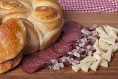 Bolos caseiros para o café da manhã Fotografia de Stock
