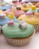 Bolos coloridos Fotografia de Stock