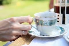 Bolos com coffe Imagens de Stock