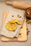 Bolos com os amendoins esmagados, caseiros Imagens de Stock Royalty Free