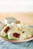 Bolos cozinhados chineses Fotografia de Stock