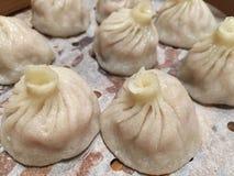 Bolos cozinhados chineses Foto de Stock Royalty Free