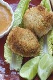 Bolos cozinhados do camarão Imagem de Stock