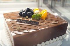 Bolos de aniversário, projeto das pastelarias Fotografia de Stock