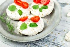 Bolos de arroz saudáveis Foto de Stock Royalty Free