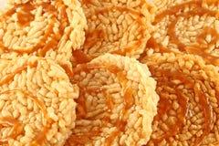 Bolos de arroz tailandeses Imagem de Stock Royalty Free