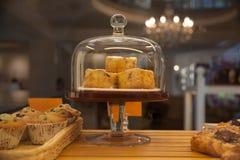 Bolos de café Imagem de Stock