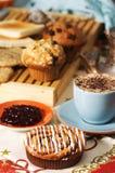 Bolos de café Imagens de Stock Royalty Free