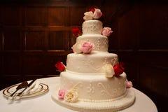 Bolos de casamento 101 fotografia de stock royalty free
