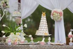 Bolos de casamento Fotos de Stock Royalty Free