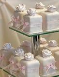 Bolos de casamento Fotografia de Stock Royalty Free