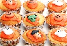 Bolos de Halloween Fotografia de Stock