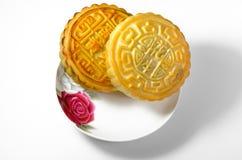 Bolos de lua chineses foto de stock royalty free