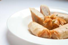 Bolos de peixes fritados Fotografia de Stock Royalty Free