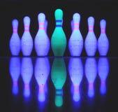 Bolos del bowling Imagen de archivo libre de regalías
