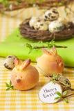 Bolos do coelhinho da Páscoa. fotografia de stock royalty free