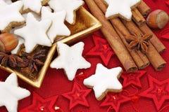 Bolos do Natal Imagens de Stock