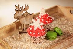 Bolos do Natal Imagem de Stock