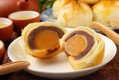 Bolos do yolk de ovo imagens de stock royalty free