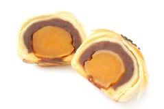 Bolos do yolk de ovo imagem de stock