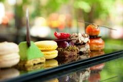 Bolos e biscoitos Fotografia de Stock