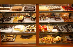 Bolos e sobremesas Fotos de Stock