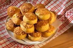 Bolos húngaros do queijo de Traditonal - pogácsa Imagem de Stock