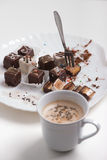 bolos Queque-pequenos Foto de Stock Royalty Free