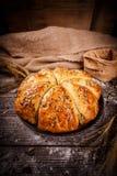Bolos recentemente cozidos do trigo Imagens de Stock
