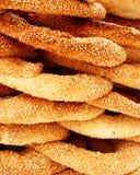 Bolos redondos gregos tradicionais Fotografia de Stock