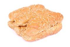 Bolos saudáveis do pão com sementes Imagem de Stock